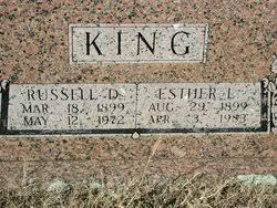 """Esther Leona """"Ester"""" West King (1899-1983) - Find A Grave Memorial"""
