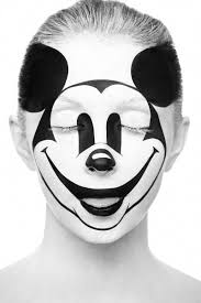 mickey mouse makeup artist transforms