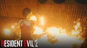 Resident Evil 2 REMAKE - Annette Burns Ada Wong (Death Scene) - YouTube