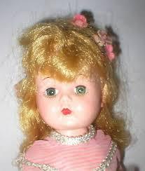"VINTAGE 1950'S BLOCK Doll,Co. Miss Addie hard plastic 10.5"" walker ..."