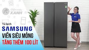 Tủ lạnh Side by Side Samsung: sang chảnh, hiện đại (RS62R5001B4/SV ...