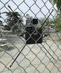The Fencepro Action Camera Gopro Backstop Chain Link Fence Mount Ebay