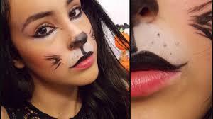 last minute cat halloween makeup