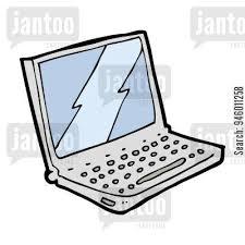 laptop computer jantoo cartoons