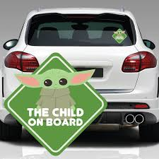 The Child On Board Window Decal Fanwraps