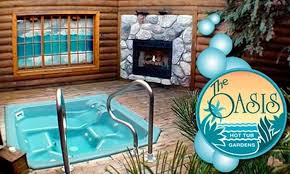 oasis hot tub gardens