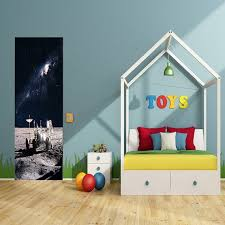 Astronaut Banner Galaxy Room Decor Space Kids Decor Outer Etsy