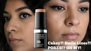 mufe ultra hd stick review oily skin