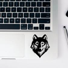 Laptop Stickers Wolf Full Body Cover Skin Sticker Para Laptop Surface Book Touchpad Skin Laptop Sticker Laptop Skins Aliexpress