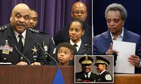 Fired Chicago police chief Eddie Johnson 'had been drinking with a ...