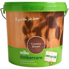 Wilko Timbercare Country Brown Exterior Wood Paint 5l Wilko