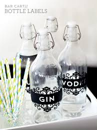 diy labels for bottles diy projects