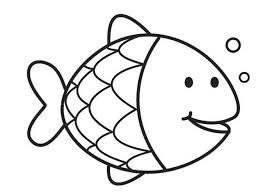Kleurplaten Voor Kleuters Kleurplaten The Rainbow Fish Vis