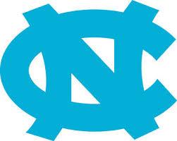 University Of North Carolina 6 Wide Unc Blue White Vinyl Decal Truck Car Window Ebay