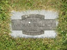Iva Mae Wallace (1894-1946) - Find A Grave Memorial