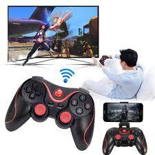 Tay cầm chơi game không dây bluetooth Terios X3 cao cấp, Máy chơi game cầm  tay,
