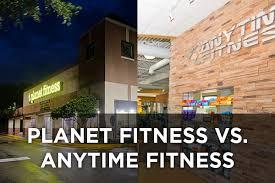 vs anytime fitness
