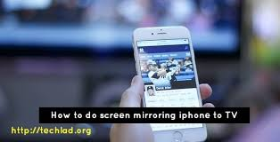 screen mirroring iphone to samsung tv