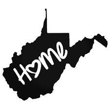 West Virginia Home Style 2 Decal Sticker