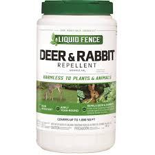 Liquid Fence Deer Rabbit Granular Repellent 2 Lb Gempler S