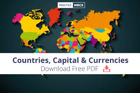 of countries capitals currencies