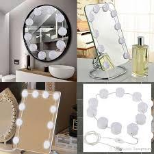 led vanity makeup mirror lights