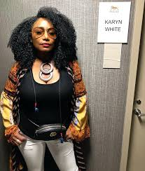 Karyn White - Getting ready to hit the stage at... | Facebook