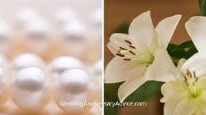 the 30th wedding anniversary
