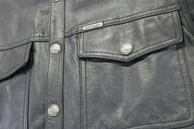 mens harley davidson leather shirt vest