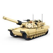 Gudi 6102 (NOT Lego Military Army M1A2 Abrams U.s. Main Battle ...
