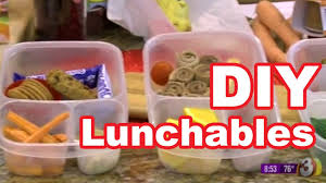 healthy lunchable style lunches