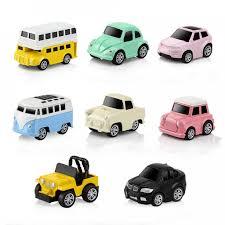 Bộ 8 Ô Tô Mô Hình Bằng Kim Loại MINI CAR Năng Lượng Cót - Đồ Chơi Cho Bé  Trai