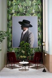 Jungle Wallpaper Removable Wallpaper Tropical Jungle Leaf Etsy
