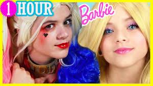 makeup harley quinn barbie doll