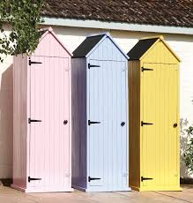 garden shed slimline compact shed in
