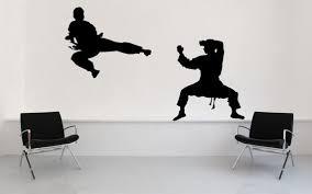 Karate Judo Ninja Black Belt Decal Sticker By Vinylwallaccents Karate Vinyl Wall Art Decals Black Belt Karate