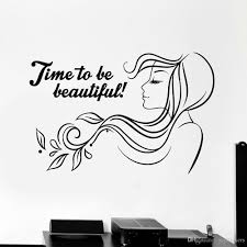 Beauty Salon Quote Vinyl Wall Decal Woman Hair Salon Wall Stickers For Girls Room Nordic Home Decoration Self Adhesive Wall Clings For Kids Wall Clings Quotes From Joystickers 10 85 Dhgate Com