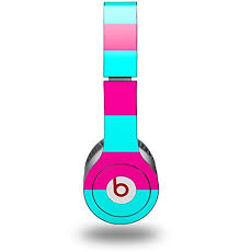 Skin Decal Wrap Compatible With Original Beats Solo Hd Kearas Psycho Stripes Neon Teal And Hot Pink Headphones Not Included B009ar2ti0 Amazon Price Tracker Tracking Amazon Price History Charts Amazon