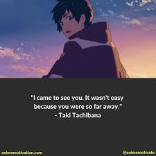 of the best anime quotes from the movie your
