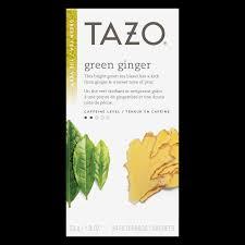 green ginger tea tazo tea