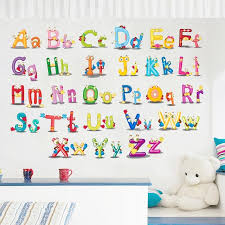 Alphabets Kids Room Wall Decals The Treasure Thrift