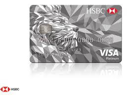 platinum credit card hsbc co in