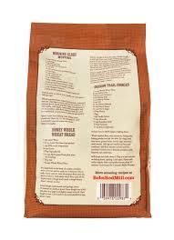 organic whole wheat flour bob s red