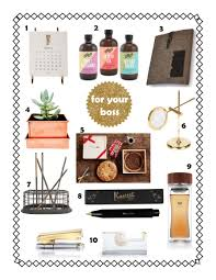 holiday gift guide for your boss for