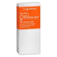 sally hansen salon gel polish nail