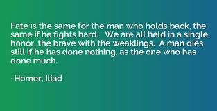 quotes by homer iliad io