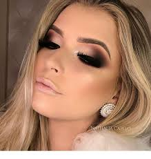 blonde with an amazing makeup and