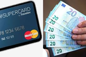 travelex to s supercard and you won