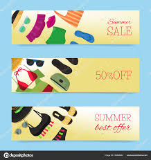fashion banners vector ilration