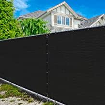 Amazon Com Black Chain Link Fence